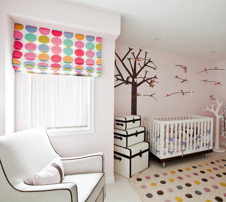 wandgestaltung im babyzimmer | style your castle - Kinderzimmer Wandgestaltung Ideen Farbe Tapete