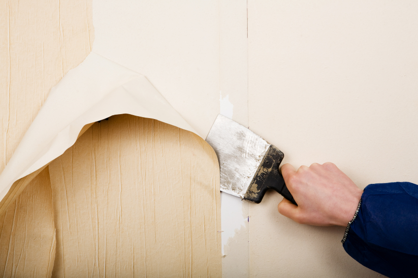 tipps tapeten leicht entfernen style your castle. Black Bedroom Furniture Sets. Home Design Ideas