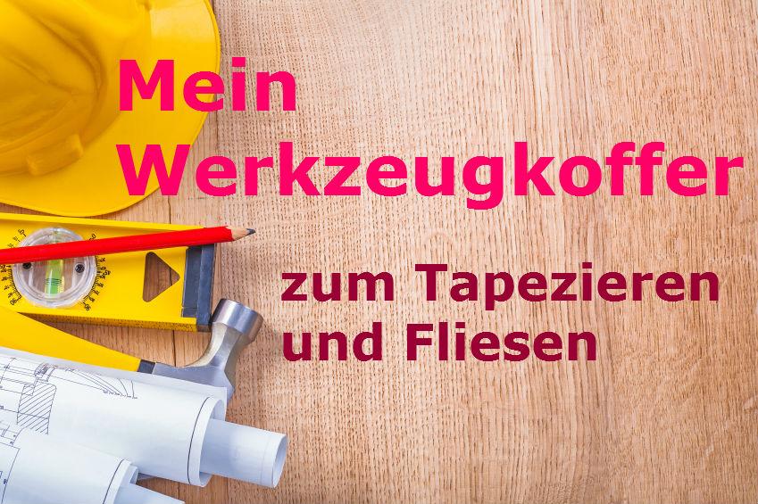 Werkzeug und zubeh r zum tapezieren style your castle for Fliesen tapezieren
