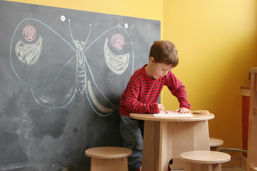 tipps zur kinderzimmer wandgestaltung mit farbe gelb - 2014-11-20 ... - Tipps Zur Kinderzimmer Wandgestaltung Mit Farbe Gelb