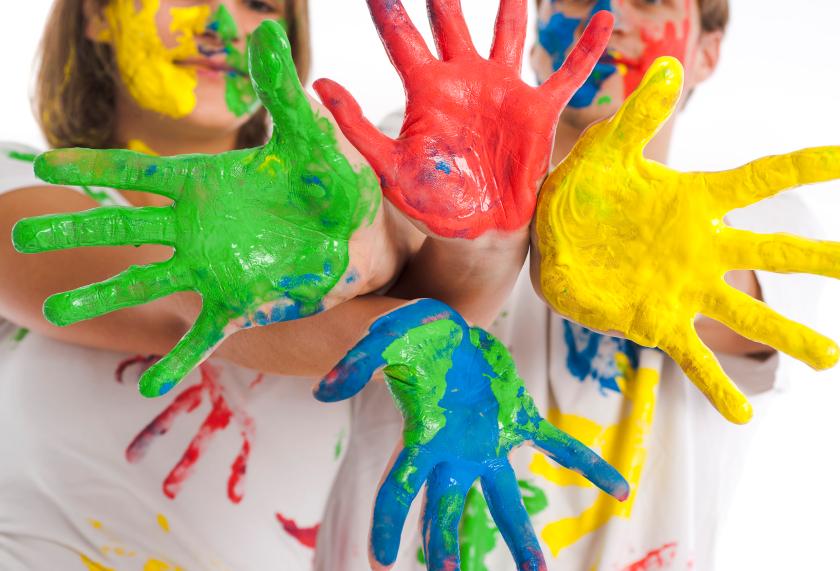 Kinderzimmer Tapete Oder Putz : Kinderzimmer Wandbemalung mit Kindern Style your Castle
