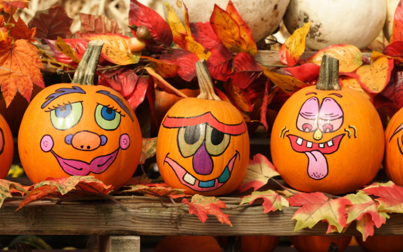 Halloween-Deko basteln mit Kindern: Tolle DIY-Ideen zum Nachmachen