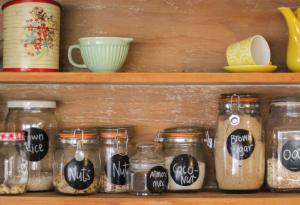 Küche und Lebensmittel organisieren | Style your Castle | {Lebensmittelaufbewahrung 17}