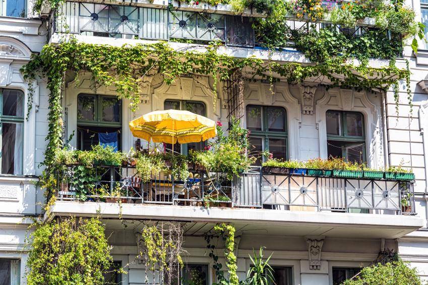 Balkon gestalten + Deko-Ideen Style your Castle